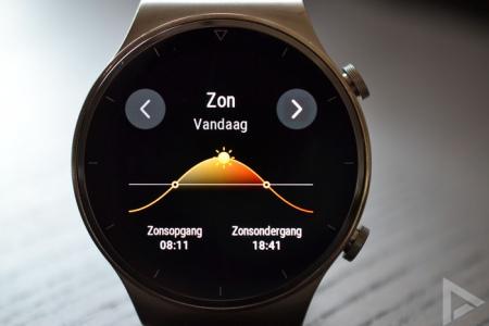 Huawei Watch GT 2 Pro zon