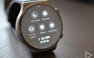 Huawei Watch GT 2 Pro notificaties