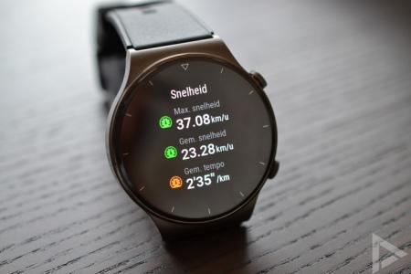 Huawei Watch GT 2 Pro snelheid