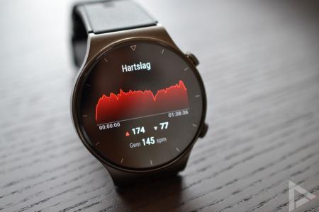 Huawei Watch GT 2 Pro hartslag