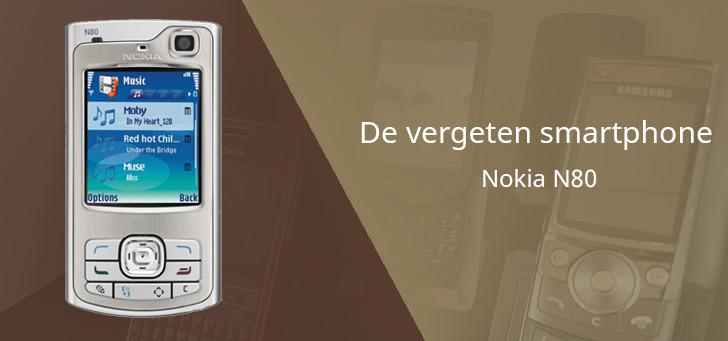 De vergeten smartphone: Nokia N80