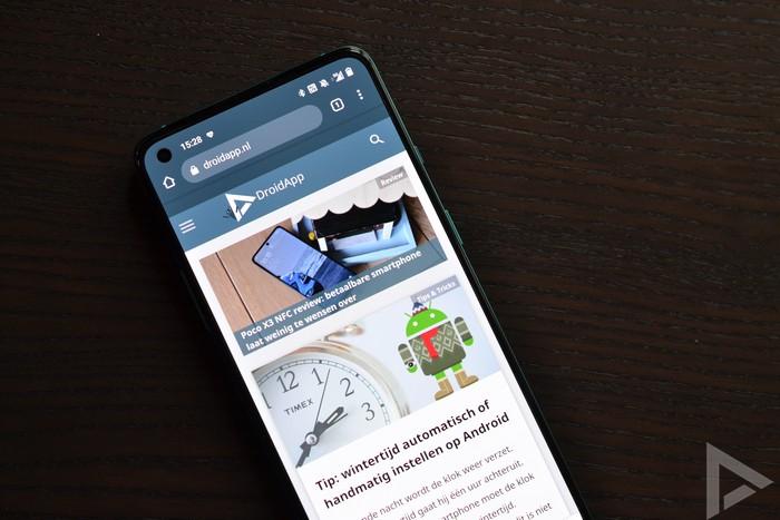 OnePlus 8T internet