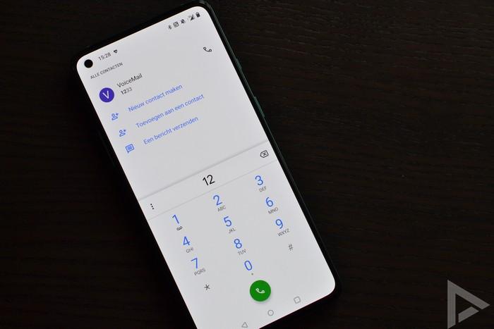 OnePlus 8T dialer