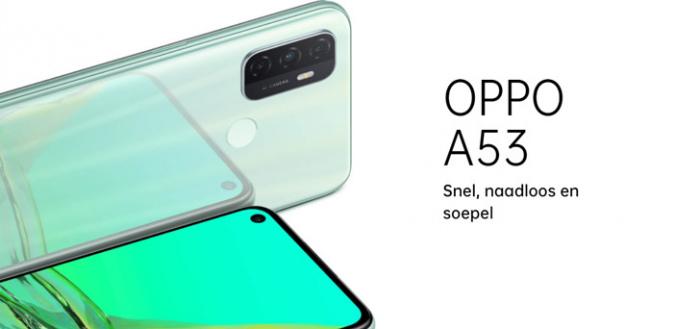 Oppo A53 en A53s aangekondigd: scherp geprijsd en direct verkrijgbaar