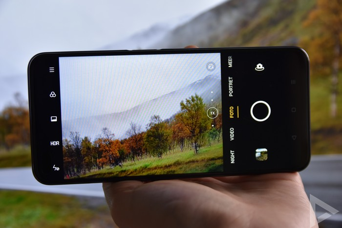 Oppo Reno 4 Z camera-app