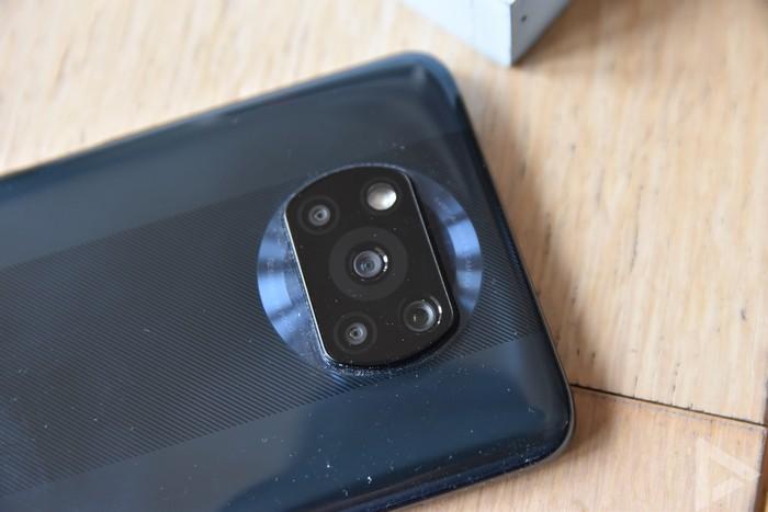 Poco X3 NFC camera