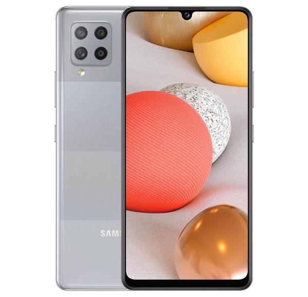 Samsung Galaxy A42 grijs