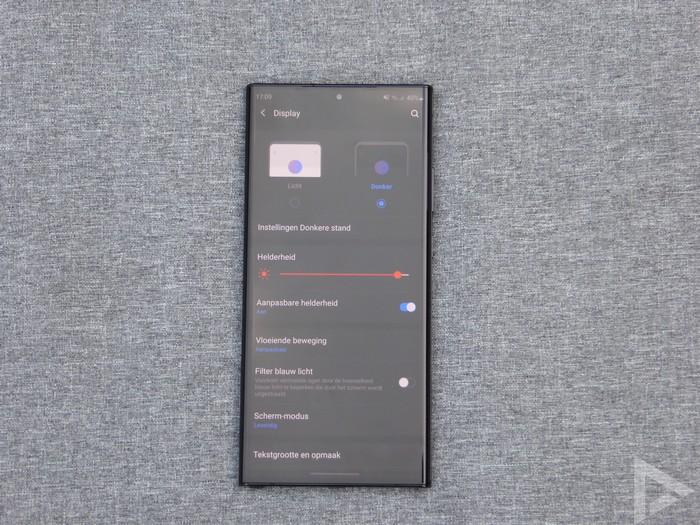 Samsung Galaxy Note 20 Ultra beeldscherm