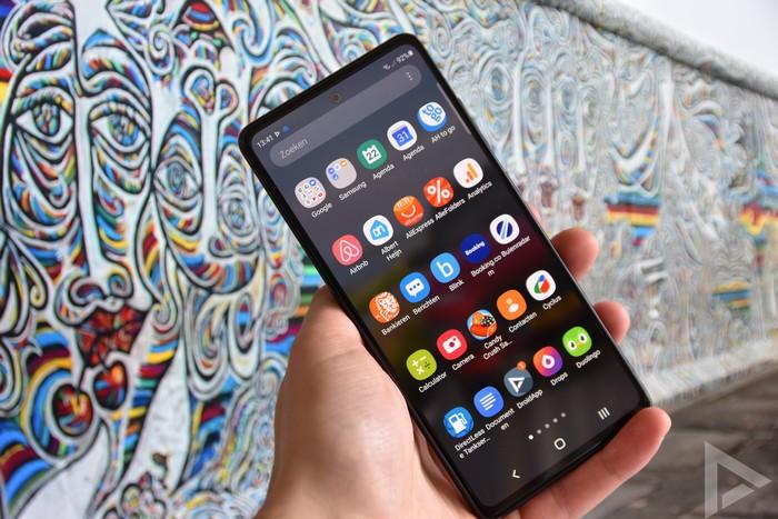 Samsung Galaxy S20 FE menu