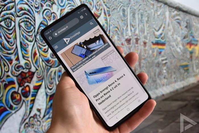 Samsung Galaxy S20 FE internet