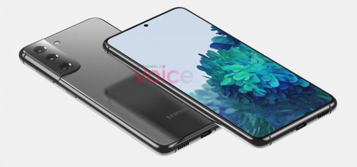 Evleaks deelt compleet pakket met Samsung Galaxy S21 persfoto's