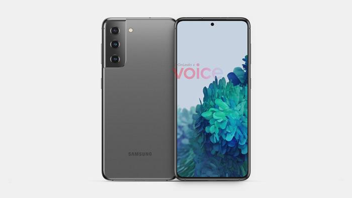 Samsung Galaxy S21 S30 render
