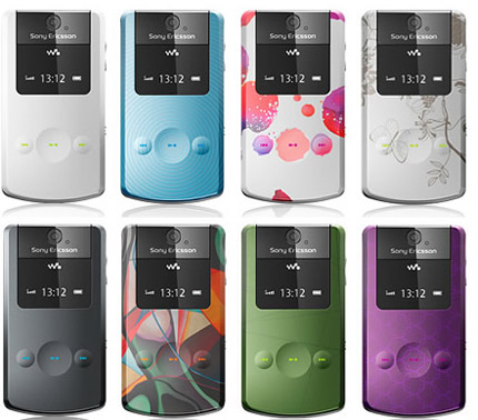 Sony Ericsson W508 Style-Up covers