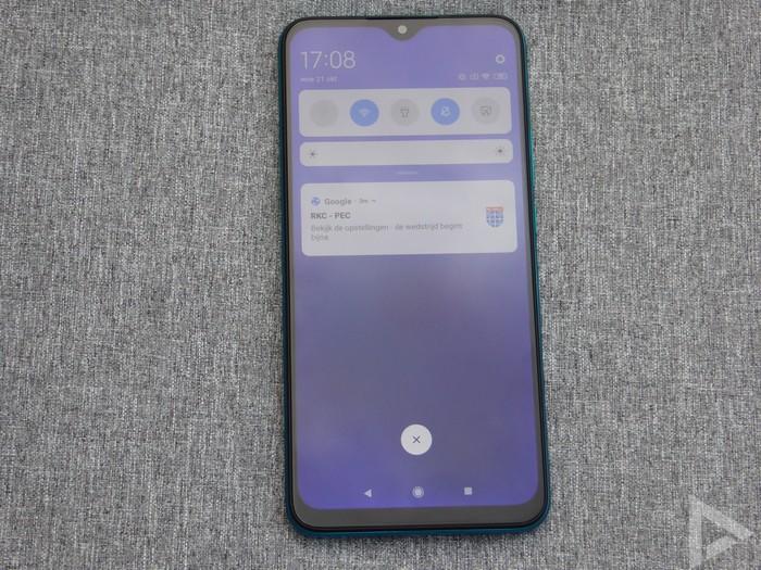Xiaomi Redmi 9 notificaties