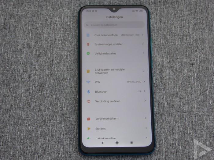 Xiaomi Redmi 9 instellingen
