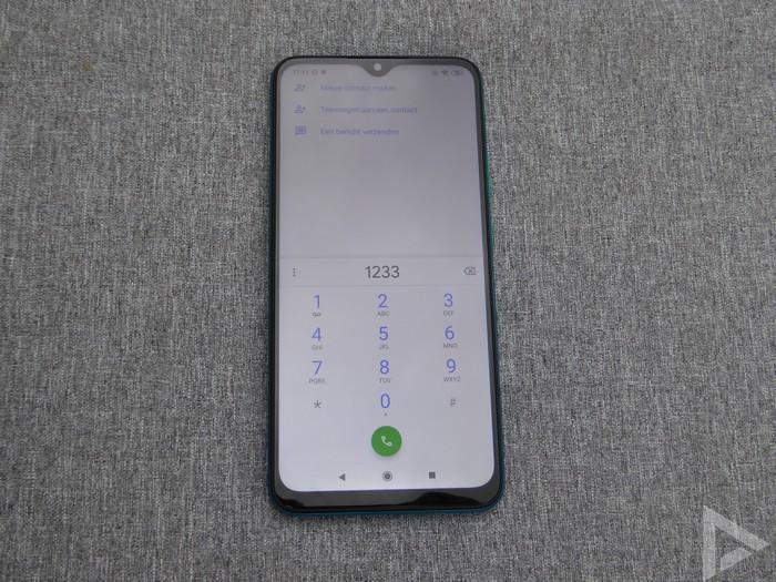Xiaomi Redmi 9 dialer