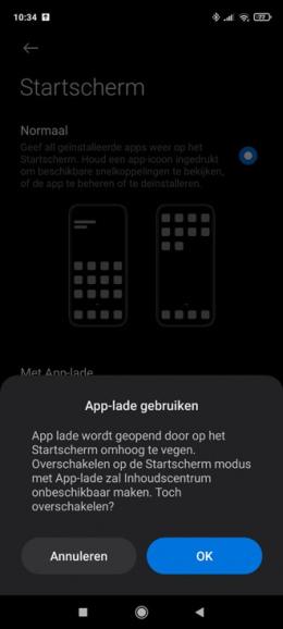 Xiaomi Redmi Note 9S app-lade