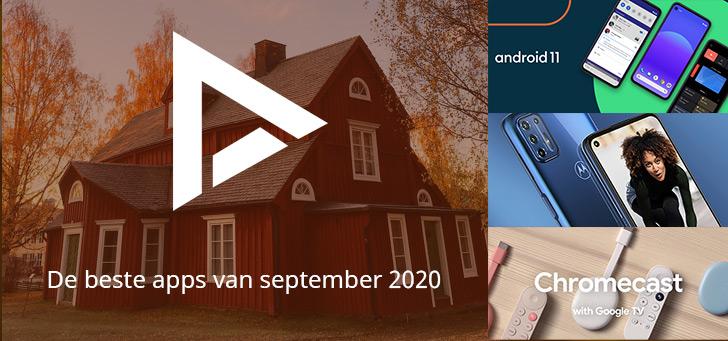 De 5 beste apps van september 2020 (+ het belangrijkste nieuws)