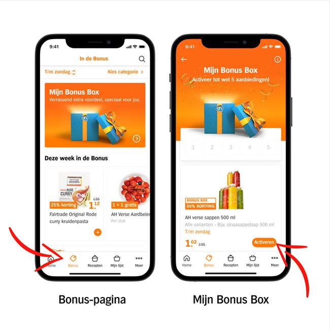 Albert Heijn Mijn Bonus Box