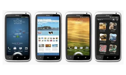 HTC One X sense