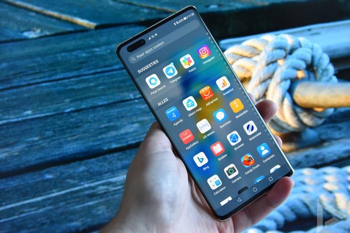 Huawei Mate 40 Pro menu