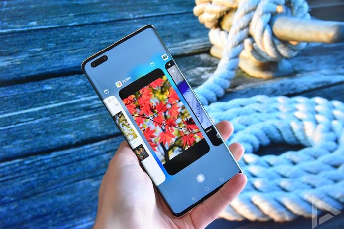 Huawei Mate 40 Pro multitasking