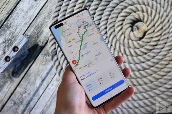 Huawei Mate 40 Pro Petal Maps