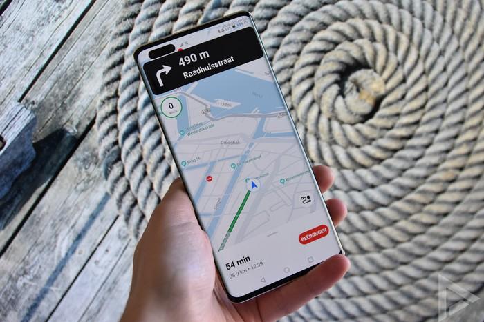 Huawei Mate 40 Pro Petal Maps navigatie