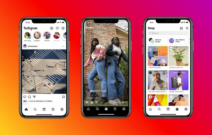 Instagram Reels interface