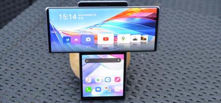 LG Wing review: gedurfde telefoon vliegt het nest uit