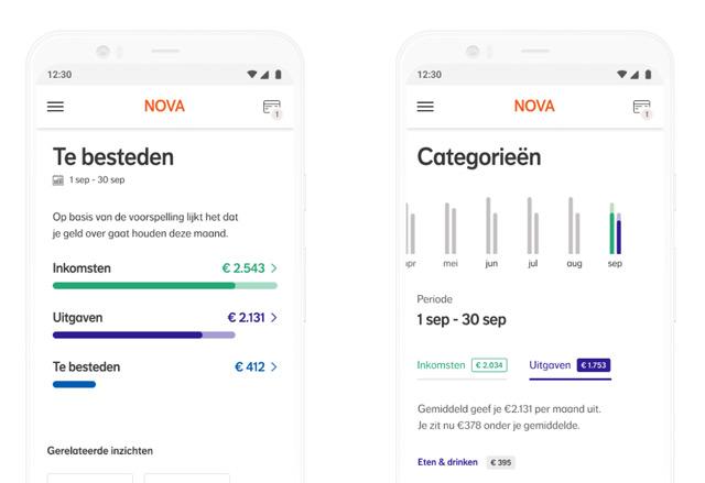 Nova budget app