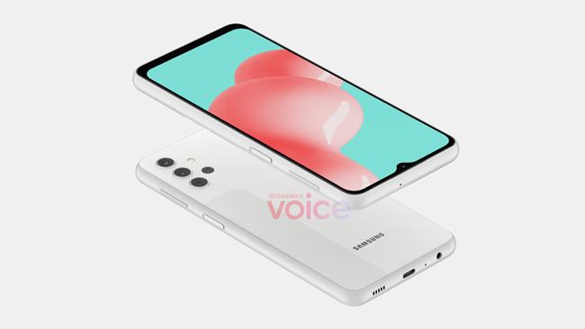 Samsung Galaxy A32 render