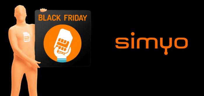 Black Friday bij Simyo: veel data voor minder