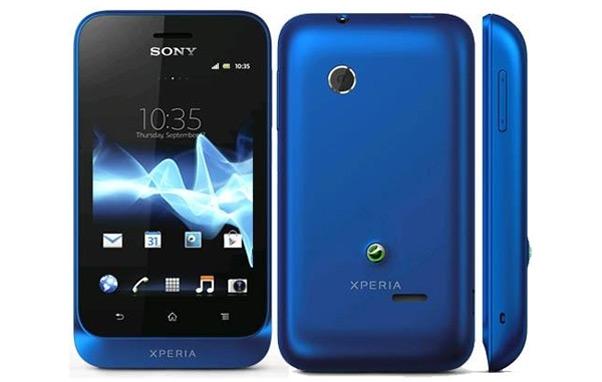 Sony Ericsson Xperia Tipo blauw