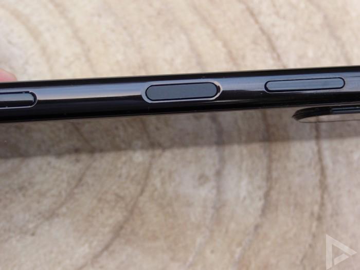 Sony Xperia 5 II vingerafdrukscanner