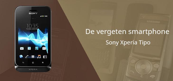 De vergeten smartphone: Sony Xperia Tipo
