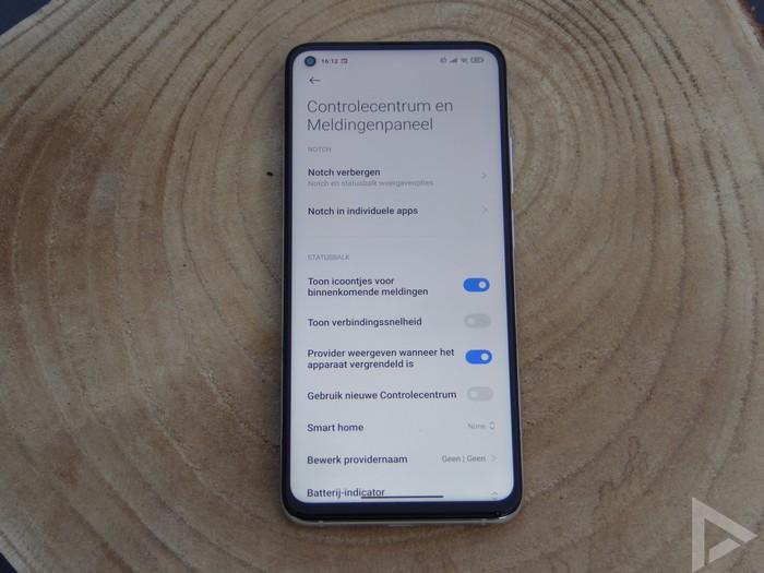 Xiaomi Mi 10T settings notifications