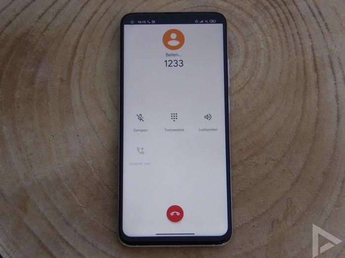 Xiaomi Mi 10T dialer