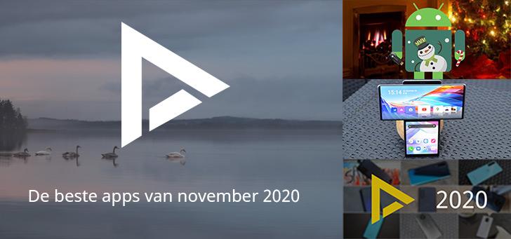 De 7 beste apps van november 2020 (+ het belangrijkste nieuws)
