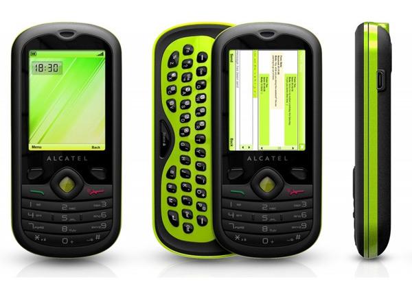 Alcatel OT-606 chat groen