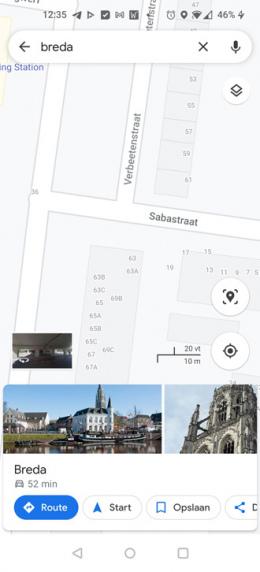 Google Maps huisnummers