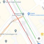 Google Maps zebrapaden