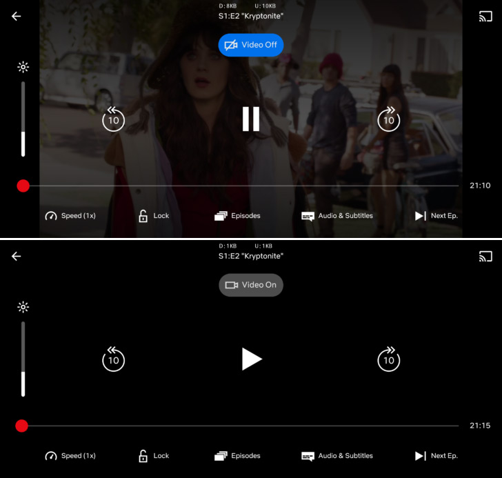 Netflix audio only