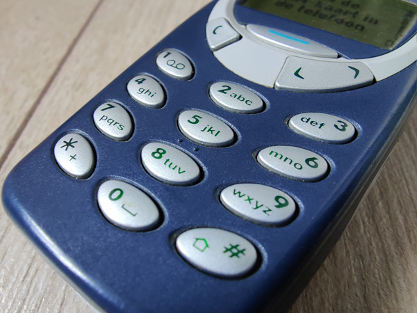 Nokia 3310 toetsen