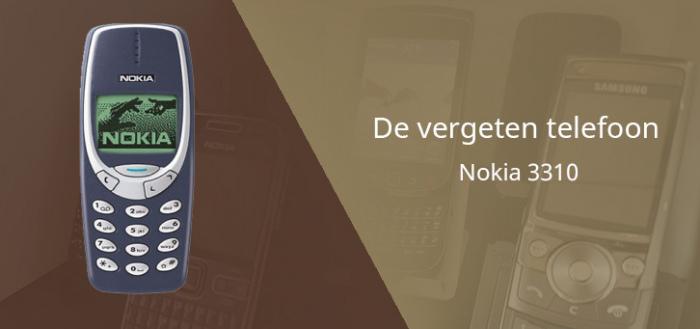 De vergeten telefoon: Nokia 3310 uit 2000