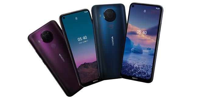 Nokia 5.4 kleuren