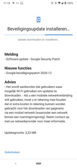 Nokia 6.2 december update