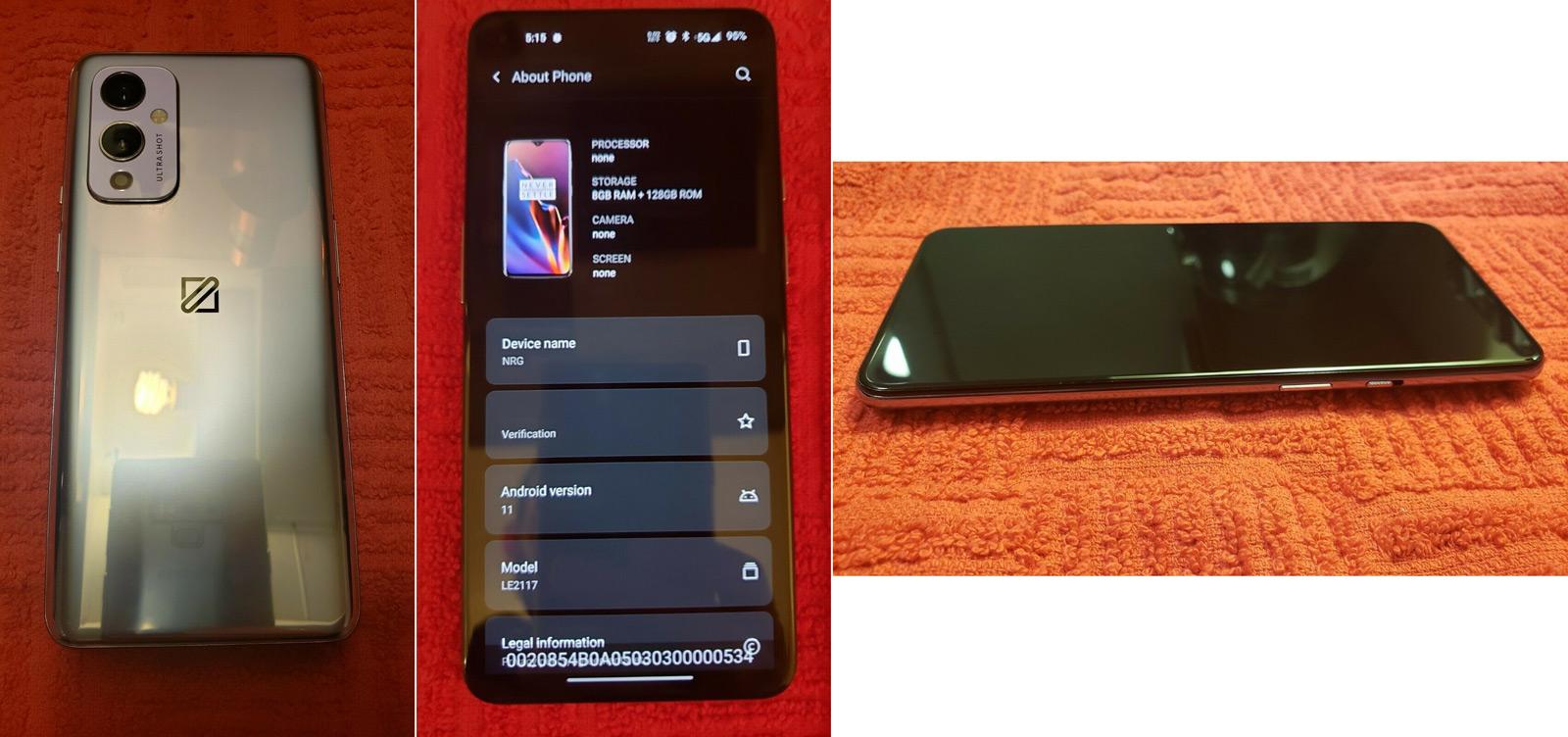 OnePlus 9 prototype