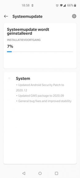 OnePlus Nord OxygenOS 10.5.10