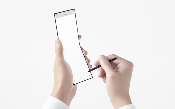 Oppo vouwbare smartphone stylus